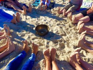 Yoga Workshop am Strand
