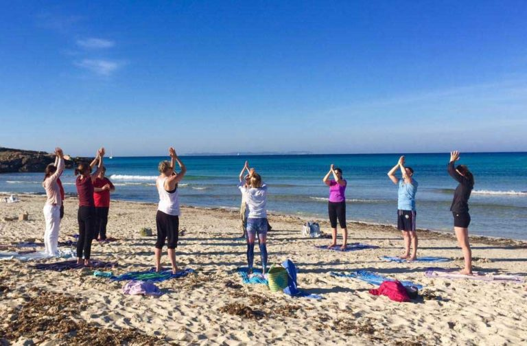 Yoga Retreat am Strand