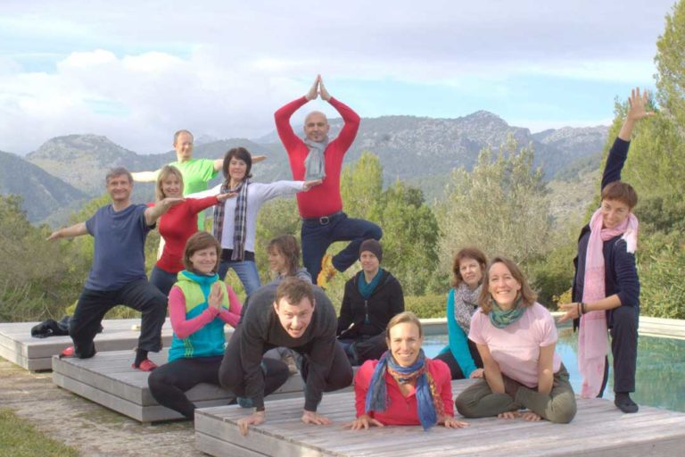 Yoga Workshop in der Natur