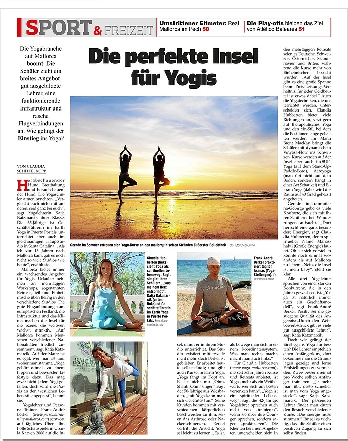 Yoga Mallorca Press