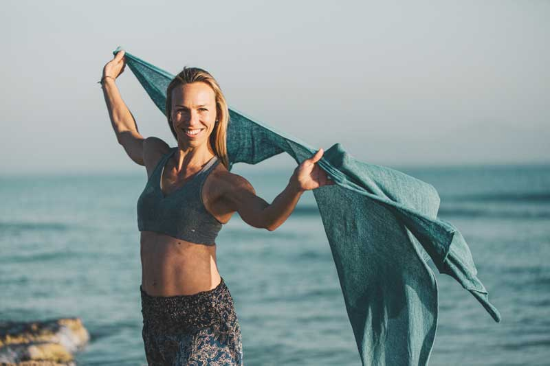 Mallorca beach Yoga