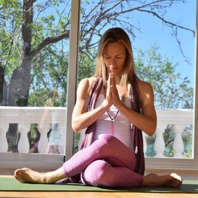 Yoga Übung Privatstunden