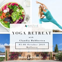 Yoga Retreat with Claudia Hubberten