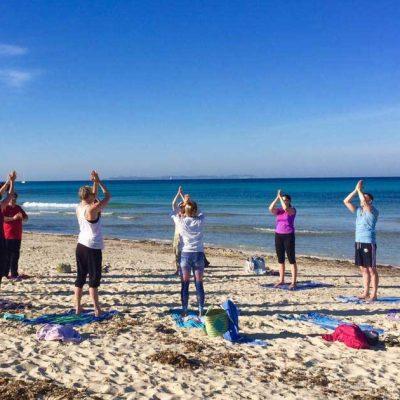Yoga Retreat am Strand