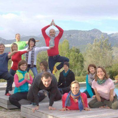Yoga Workshop in der Natur